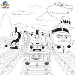 color troublesome the engine tank coloring pictures printable