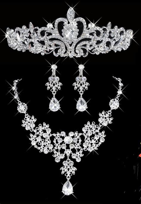 Anting Mahkota mahkota kalung anting pengantin