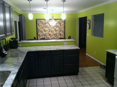 lime green walls lime green kitchen walls