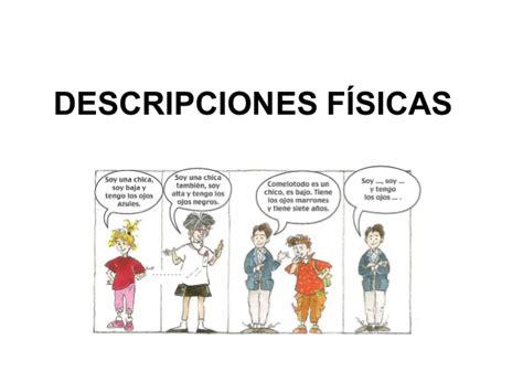 imagenes historicas con descripcion spanish lesson a1 descripciones f 205 sicas