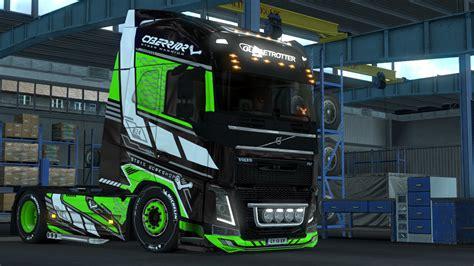 cyberrior paintjobs  volvo fh euro truck simulator  mods