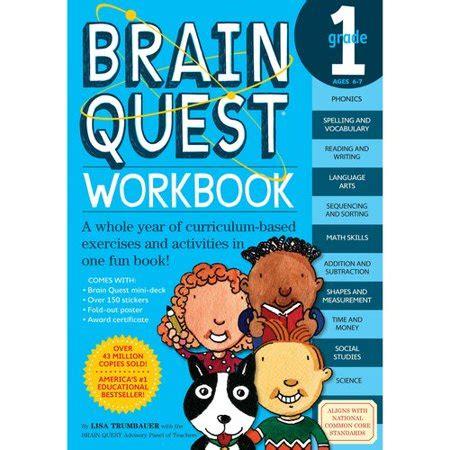 Brain Quest Workbook Grade 5 brain quest workbook grade 1 walmart