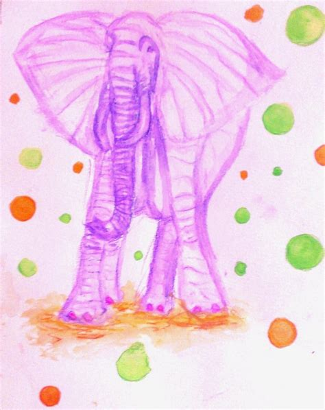 Dlm 26 Purple Elaphant Set pink toed purple elephant by lifeasanart on deviantart