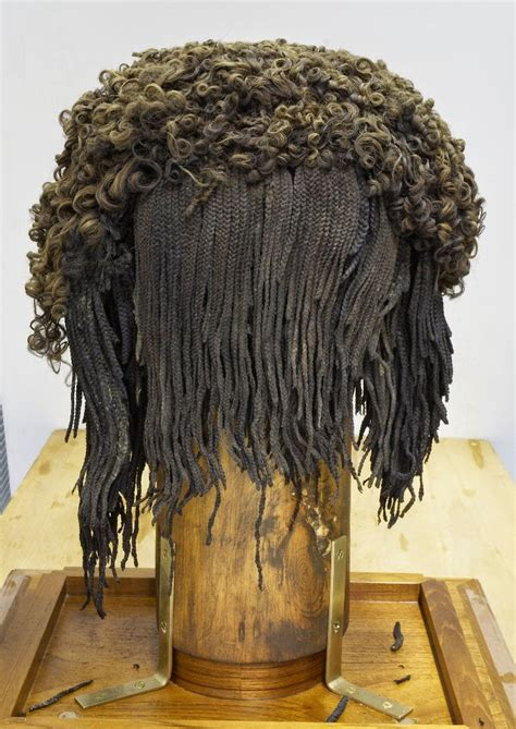 history of hair braiding egypt ancient egyptian wig made from real hair archaeology