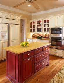 traditional kitchen grand prairie amp bath designers usi red island love this pinterest
