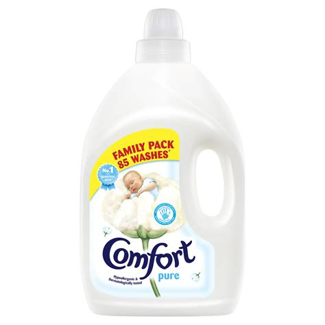 comfort a comfort pure fabric conditioner 3l at wilko com