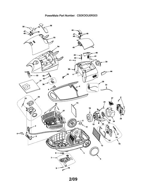 kenmore vacuum model 116 parts diagram 116 29914900 kenmore canister vacuum cleaner manual