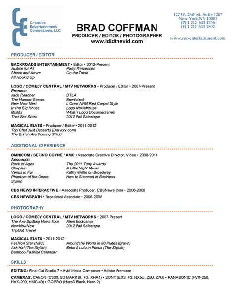 marvelous resume edit format producer resume format krida info