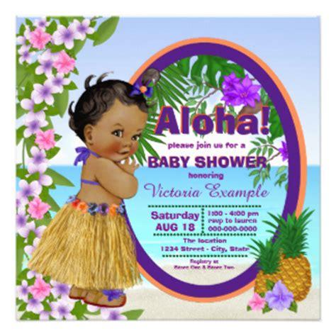 Luau Baby Shower by Luau Invitations 1500 Luau Announcements Invites