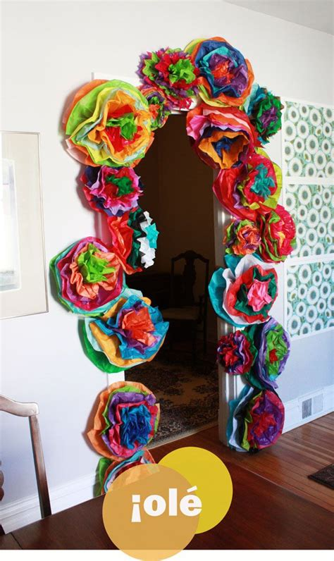 How To Make Mexican Paper Decorations - best 25 mexican decorations ideas on