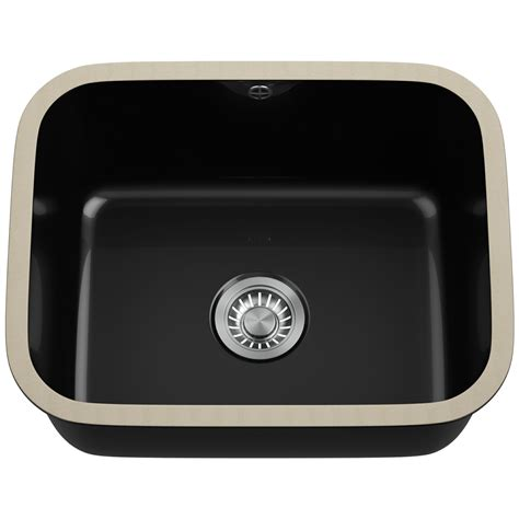 franke undermount kitchen sinks franke v and b vbk 110 50 ceramic black 1 0 bowl