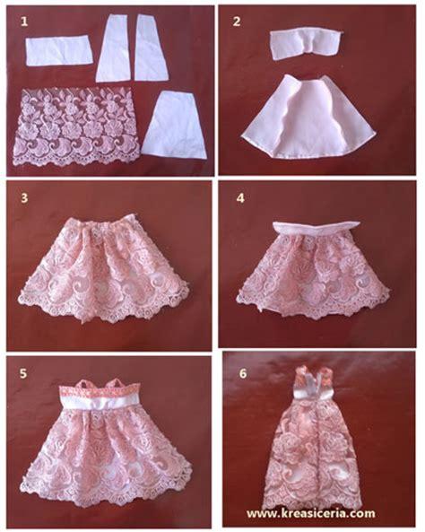 Membuat Pola Baju Boneka | cara paling mudah membuat baju boneka barbie kreasi ceria