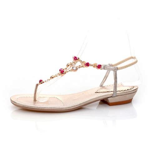 Fashion Flat Shoes Permata Silver fashion flat low heel clip toe silver pu sandals sandals shoes lovelywholesale wholesale shoes