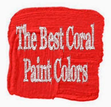 coral paint colors the best 9 coral color paint shades schulman