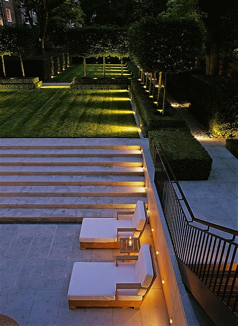 Luciano Giubbilei The Boltons Outdoor Lighting For Steps