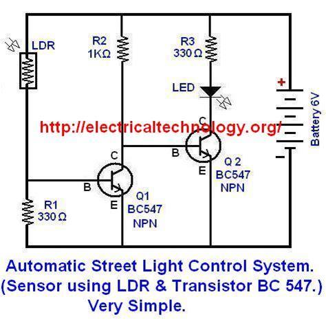solar light circuit diagram solar street light wiring diagram efcaviation com