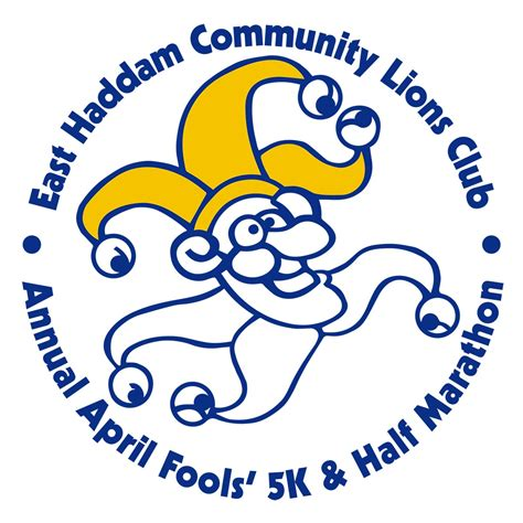 East Haddam Community Lions Club April Fools 5k And 1 2 Marathon Race Reviews Moodus Connecticut Lions Club Letterhead Template