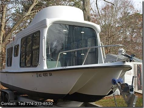 used adventure craft boats 1999 adventurecraft houseboat used boats for sale by