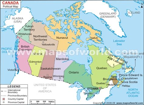 canadian map political the united states and canada political map thefreebiedepot