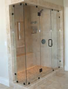 Glass Shower Walls And Doors Frameless Glass Shower And Tub Enclosures