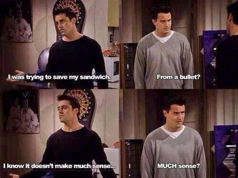 Memes On Friends - chandler has my sense of humor love it life