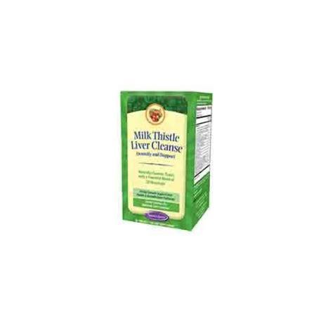 Milk Thistle Estrogen Detox by Nature S Secret Milk Thistle Liver Cleanse 60 Tabs