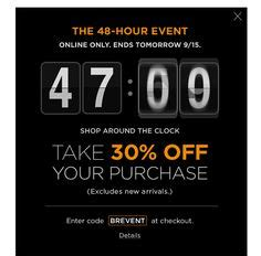 34 Best Flash Sales Email Templates Images On Pinterest Sale Emails Email Design Inspiration Flash Email Templates