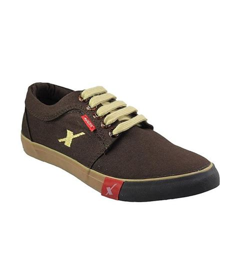 sparx brown beige canvas shoes available at snapdeal