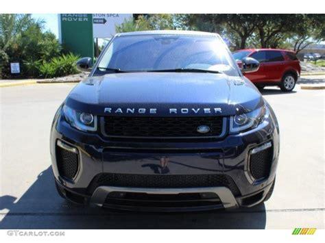 dark blue range rover range rover evoque dark blue