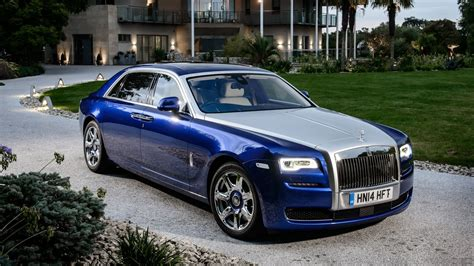 roll royce ghost blue 2015 rolls royce ghost series ii interior and exterior