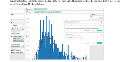 tableau tutorial histogram tableau density plot histogram without using r stack