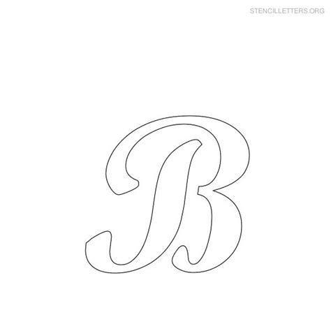 printable letters stencils free stencil letters b printable free b stencils stencil