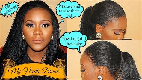 where in lagos can i make millioo braids detailed info on my needle braids youtube