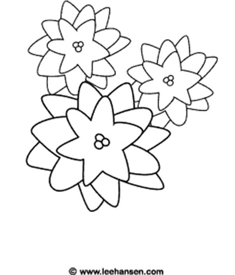 poinsettia coloring page pdf christmas flower coloring page poinsettia picture to color