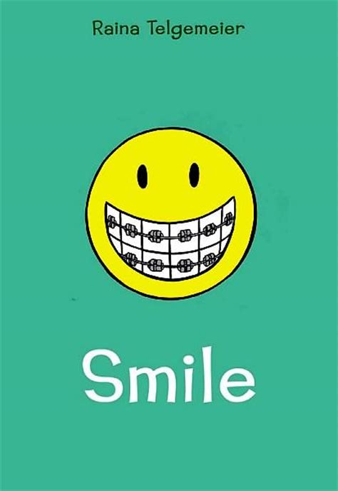 the the smile books the book smile by raina telgemeier