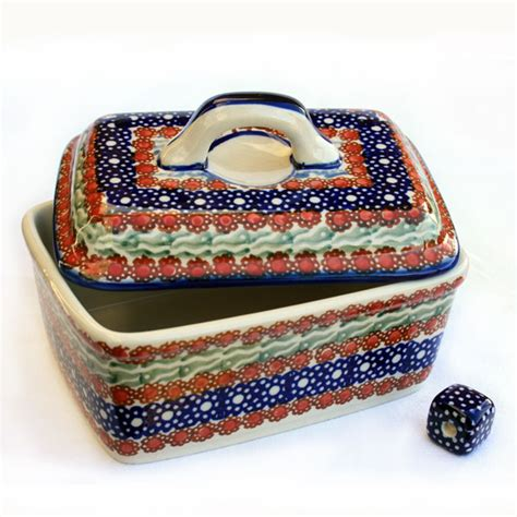 Scheune Offen by Pottery Butter Box Siena Design 10x10x14cm