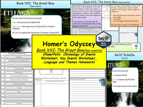 themes in book 21 of the odyssey matthew nolan s shop teaching resources tes