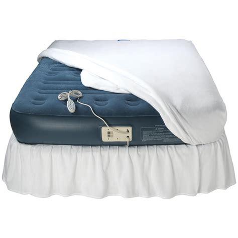 aerobed premier comfort zone raised air bed  air