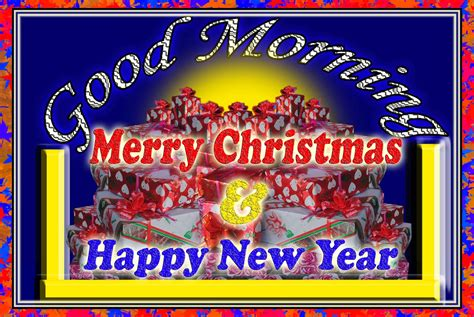 good morning merry christmas  happy newyear   greeting card collection  happy
