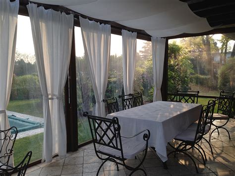 tende di plastica per esterni tende trasparenti tendasol brescia bergamo
