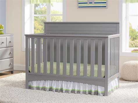 delta children delta children fancy 4 in 1 crib grey