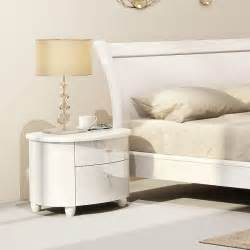 Cecilia White Gloss Bedroom Furniture White Gloss