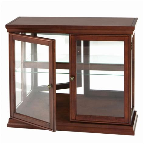 wood and glass display cabinet vintage hanging table top display case urbanamericana pics