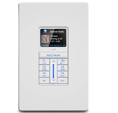 attractive new rti home automation remote keypads combine
