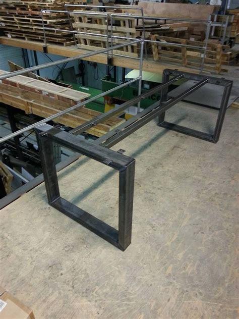 tafel maken constructie tafelframe van staal gemaakt door metaalwinkel utrecht