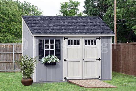 6x12 Shed Storage Shed Plans 6 X 12 Deluxe Lean To Slant