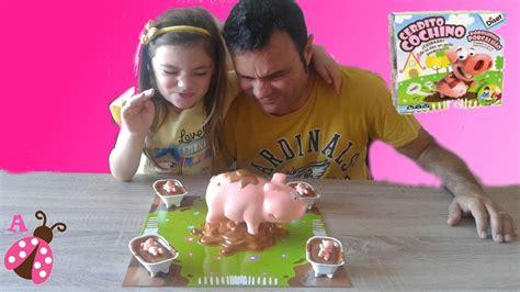 juegos con los padres youtube cerdito cochino juego de mesa con mi padre youtube
