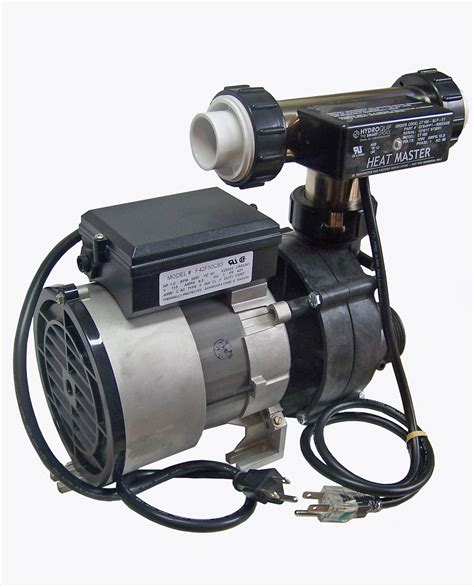 bathtub pump whirlpool bathtub jet pump heat master tee heater system combo 1hp 9 5s