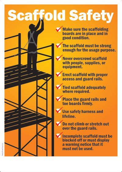 25 best ideas about scaffolding safety on pinterest