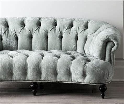 tufted seafoam velvet sofa sittin pretty pinterest